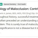 https://www.oralhealthgroup.com/features/etiology-malocclusion-contributory-factors/